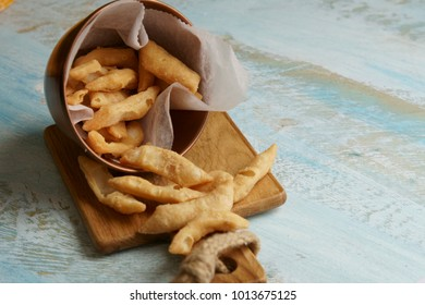 Namak Para, a fried snack for Indian festival Diwali and Holi