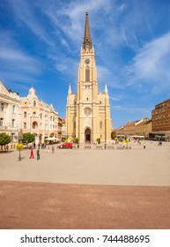 The Name of Mary Church (Cathedral) in Liberty Square (Trg Slobode), Novi Sad, Serbia