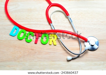 Name Medical Term Doctor Stethoscope Stock Photo Edit Now
