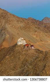 Namgyal Tsemo  Gompa at Leh, ladakh, India