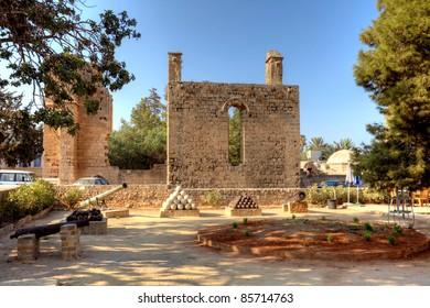 Namik Kemel Square in Famagusta (Gazimagusa) Northern Cyprus