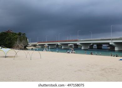 Naminoue Shrine and Naminoue beach