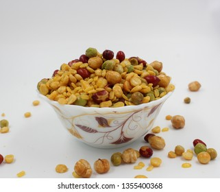 namkeen, nuts, pulses mixture, assorted namkeen - Indian traditional snacks