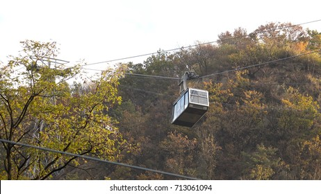 Namsan cable car at N Seoul Tower, South Korea