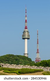 Namsan Tower in Seoul,South Korea