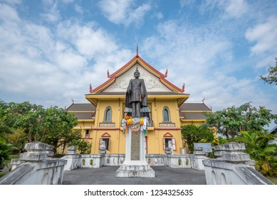 Nan, Thailand - October 11, 2018: The building of Nan National Museum, Nai Wiang District, Amphoe Mueang Nan, Nan province, Thailand.