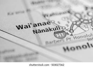 Nanakuli. Hawaii. USA