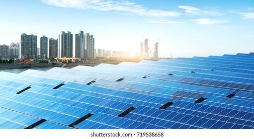 Nanchang ,Ecological energy renewable solar panel plant