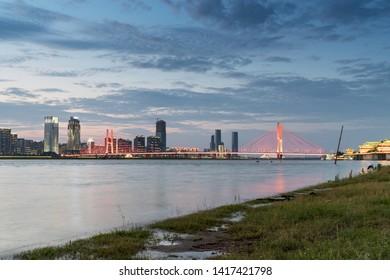Nanchang, Jiangxi river views in China