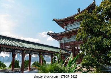 Nanchang Tengwang Pavilion, a traditional Chinese ancient architecture