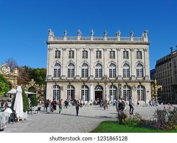 Nancy / France - 10.18.2014: The Lorraine National Opera.