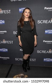 """Nancy O'Brien attends 19th Annual Horror Film Festival - Screamfest - """"Rabid"""" Los Angeles Premiere - Arrivals at TCL Chinese Theatre, Hollywood, CA on October 16, 2019"""