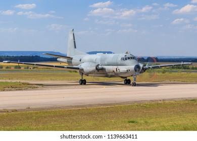 Nancy/France June 10, 2018: France - NavyDassault ATL-2 Atlantique 2  at Nancy
