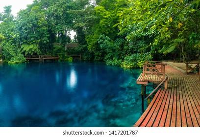 Nanda Blue Hole, Espiritu Santo, Vanuatu, near Luganville