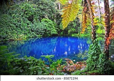 Nanda Blue Hole, Espiritu Santo, Vanuatu