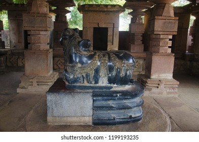 Nandi Bull, Ramappa temple, Warangal Telangana India