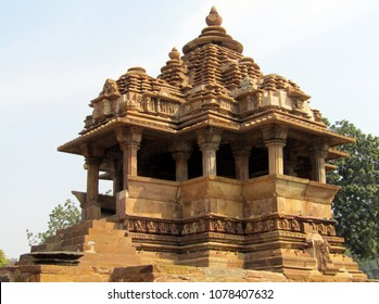 Nandi Temple at Khajuraho, popular worldwide for its outstanding architectural  designs and art of ecstacy. It is a unesco world Heritage site