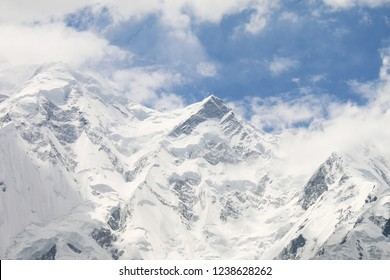 Nanga Parbat forms the western anchor of the Himalayan Range and is the westernmost eight-thousander. It lies just south of the Indus River in the Diamer District of Gilgit–Baltistan in Pakistan.