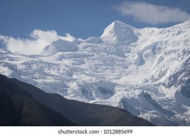 Nanga Parbat mountain massif in a morning, Chials, Pakistan, Asia