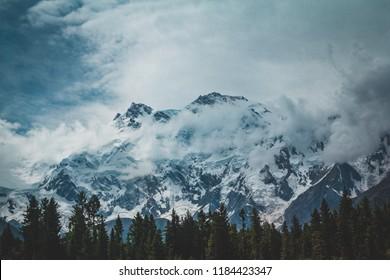 Nanga Parbat Mountains.