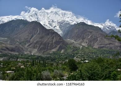 Nanga Parbat, world eighth highest mountain, Himalaya range
