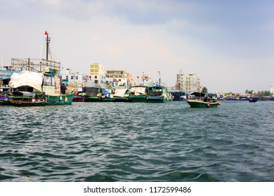 Nanhai Monkey Island Fishing Arrangement, Hainan, China