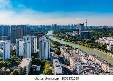 Nanjing urban architectural landscape