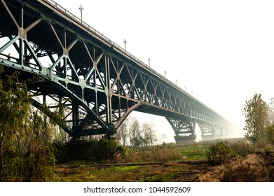 Nanjing Yangtze River Bridge, built in 1968. It is the first double deck railway and highway bridge designed and built by China on the Yangtze Rive