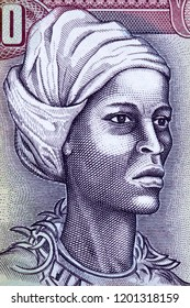 Nanny of the Maroons portrait from Jamaican money