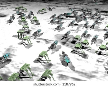 nanotech warfare armies of microscopic robots