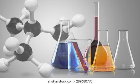 Nanotechnology, Buckminsterfullerene Molecule, Molecule.