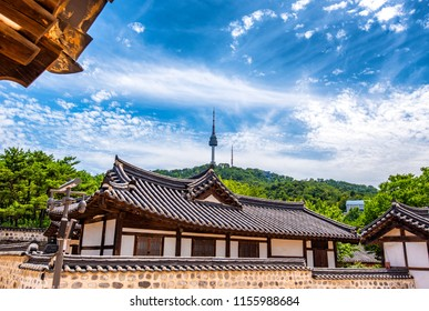 nansangol hanok traditional village at seoul korea