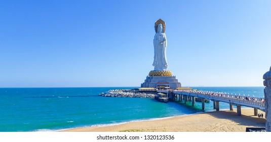 Nanshan Budhist Temple Sanya, Hainan, China.