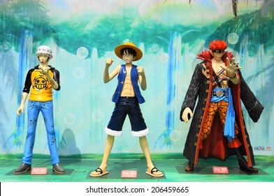 Nantou, Taiwan- May 25, 2013: One Piece show in Formosan Aboriginal Culture Village, Taiwan.