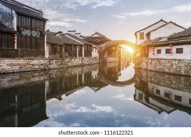 Nanxun ancient town, huzhou, zhejiang, China
