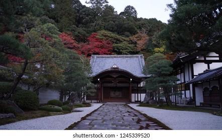 Nanzen-ji temple in autumn