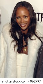 Naomi Campbell at Gotham Magazine's Sixth Annual Gala with Hosts Rudy and Judith Giuliani February 6, 2006 - Capitale New York City, New York United States