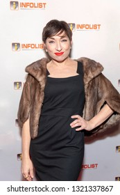 Naomi Grossman attends 2019 InfoList's Pre-Oscars Soiree at Skybar at the Mondrian Hotel, West Hollywood, CA on February 20th, 2019