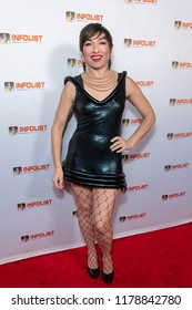 Naomi Grossman attends INFOLIST PRE-EMMYS SOIREE  at Skybar at the Mondrian Hotel, West Hollywood, California on September 12th, 2018