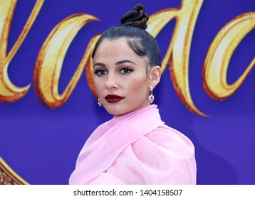 Naomi Scott at the Los Angeles premiere of 'Aladdin' held at the El Capitan Theatre in Hollywood, USA on May 21, 2019.