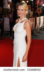 "Naomi Watts arrives for the ""Diana"" World premiere at the Odeon Leicester Square, London. 05/09/2013"