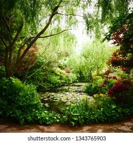 Naoshima Monet  Garden