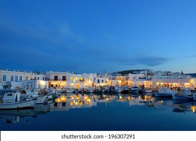 Naousa Port - Paros