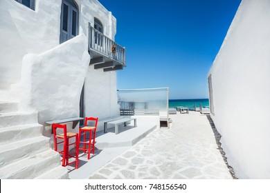 Naoussa Village, Paros, Greece