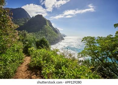 Napali Coast, Kauai Island, Hawaii, USA