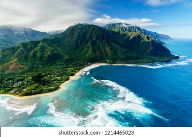Napali Coast on Kauai, Hawaii