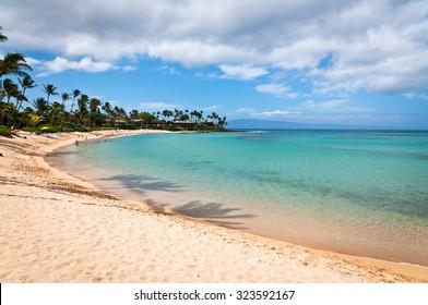 Napili beach on Maui island