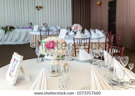 Napkin Folded Pyramid Served Dinner Restaurant Stock Photo Edit Now