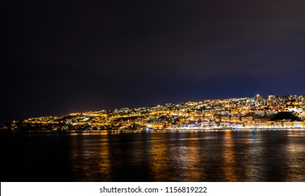 Naples Coast by Night
