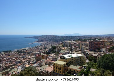 Naples Italy from above